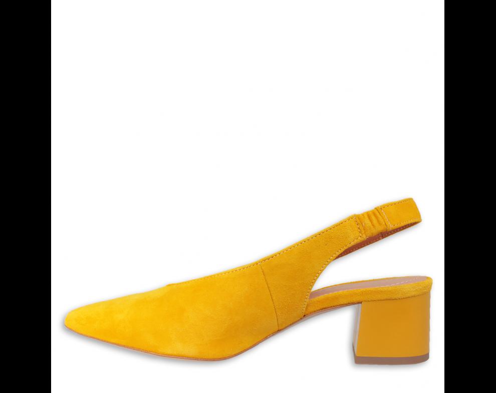 Sandále SZ1987/603 ŽLTÁ SEMIŠ