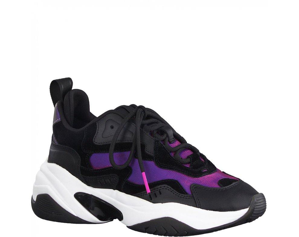 Sneakersy Tamaris 1-1-23738-25 098 BLACK COMB