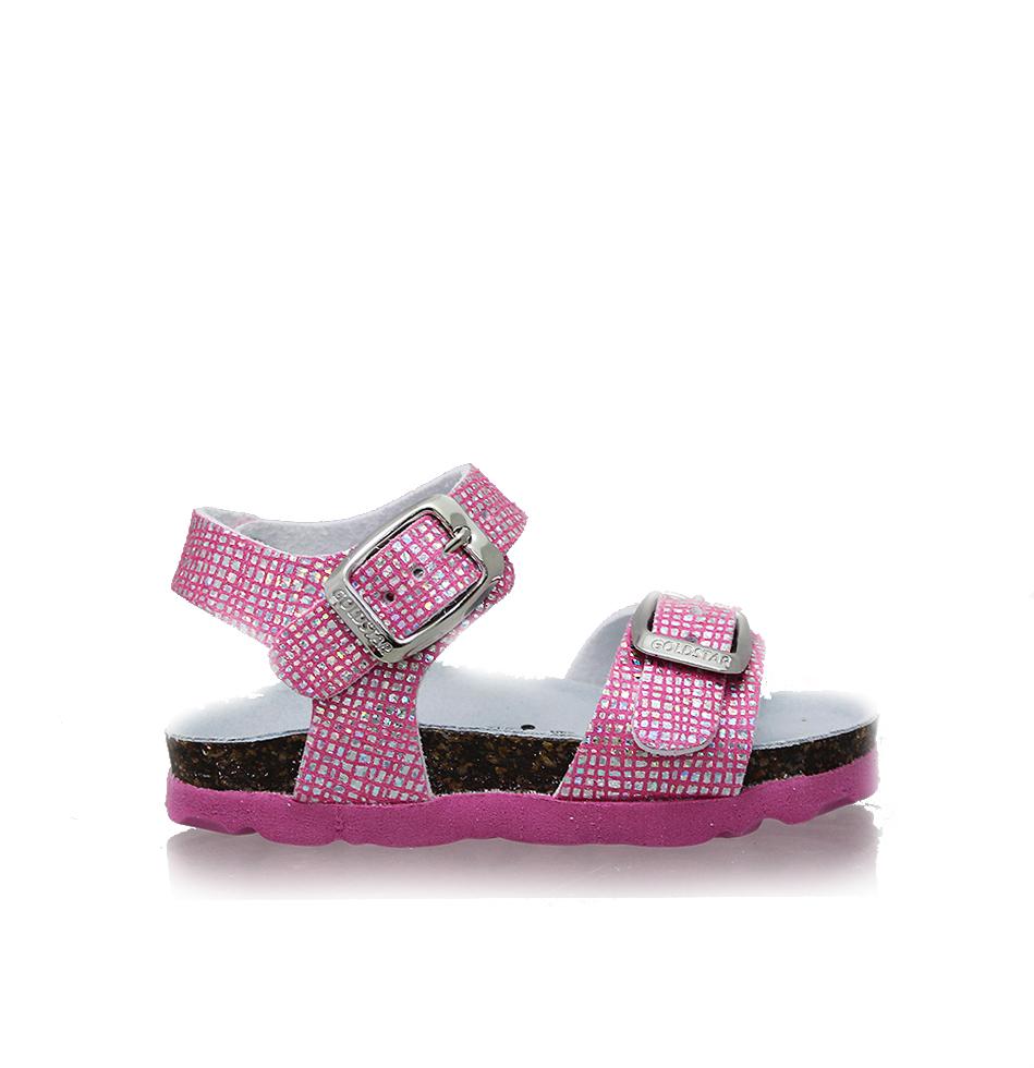 Dievčenské sandále GS1846FF ALASKA PORPORA 18-27  49eef78e1c3