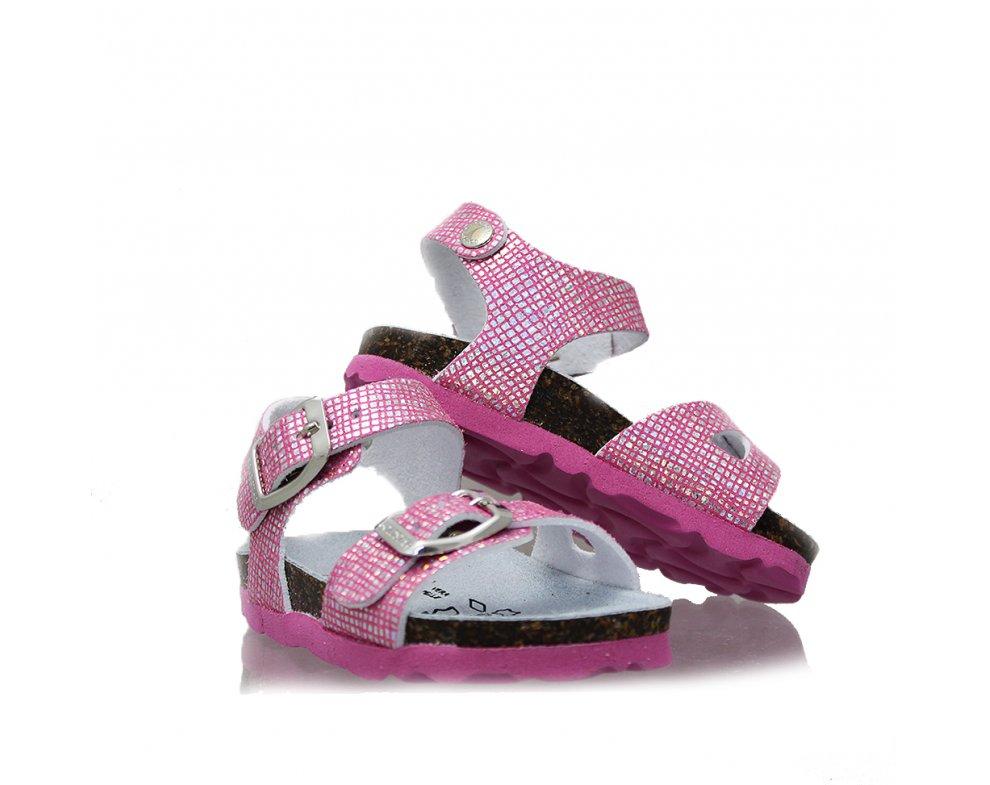 Dievčenské sandále GS1846FF/ALASKA PORPORA 28-34