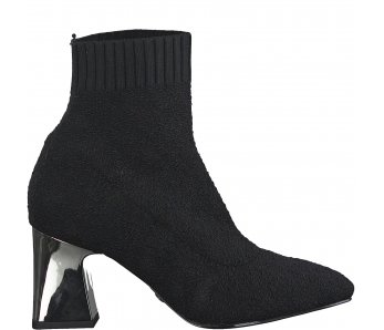 Ponožkové kotníky Tamaris 1-1-25987-25 042 BLACK/GALVA