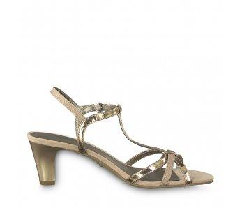 Sandále 1-1-28329-22 586 ROSE MET./GLAM