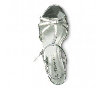 Sandále 1-1-28329-22 941 SILVER