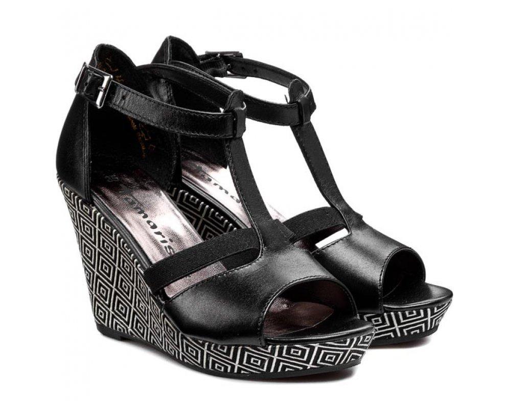 Sandále Tamaris 1-1-28352-24 BLACK COMB