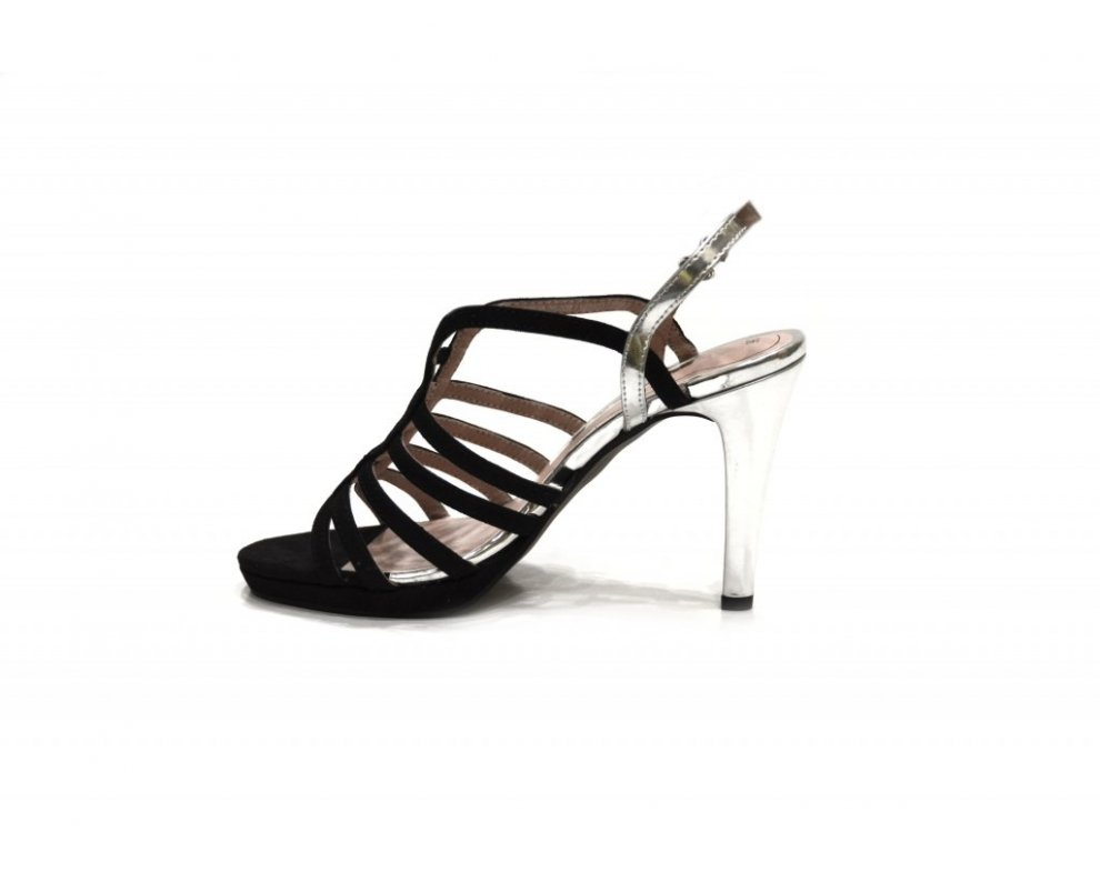 Sandále Tamaris 1-1-28320-26 028 BLACK/SILVER