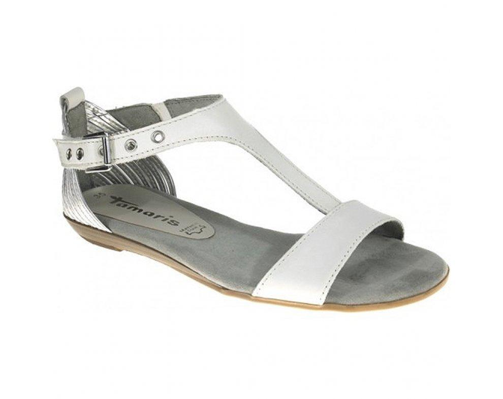 Sandále Tamaris 1-1-28170-36 191 WHITE/SILVER