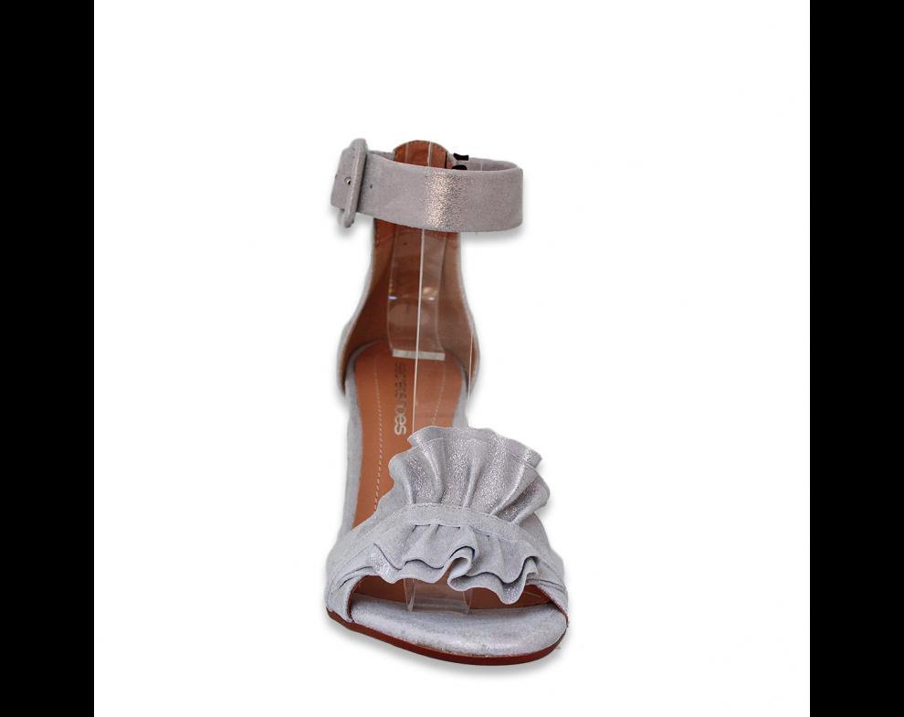 Sandále SZ2106/548 SIVÁ PERLEŤ