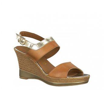 Sandále TAMARIS 1-1-28359-26 348 NATURE/GOLD