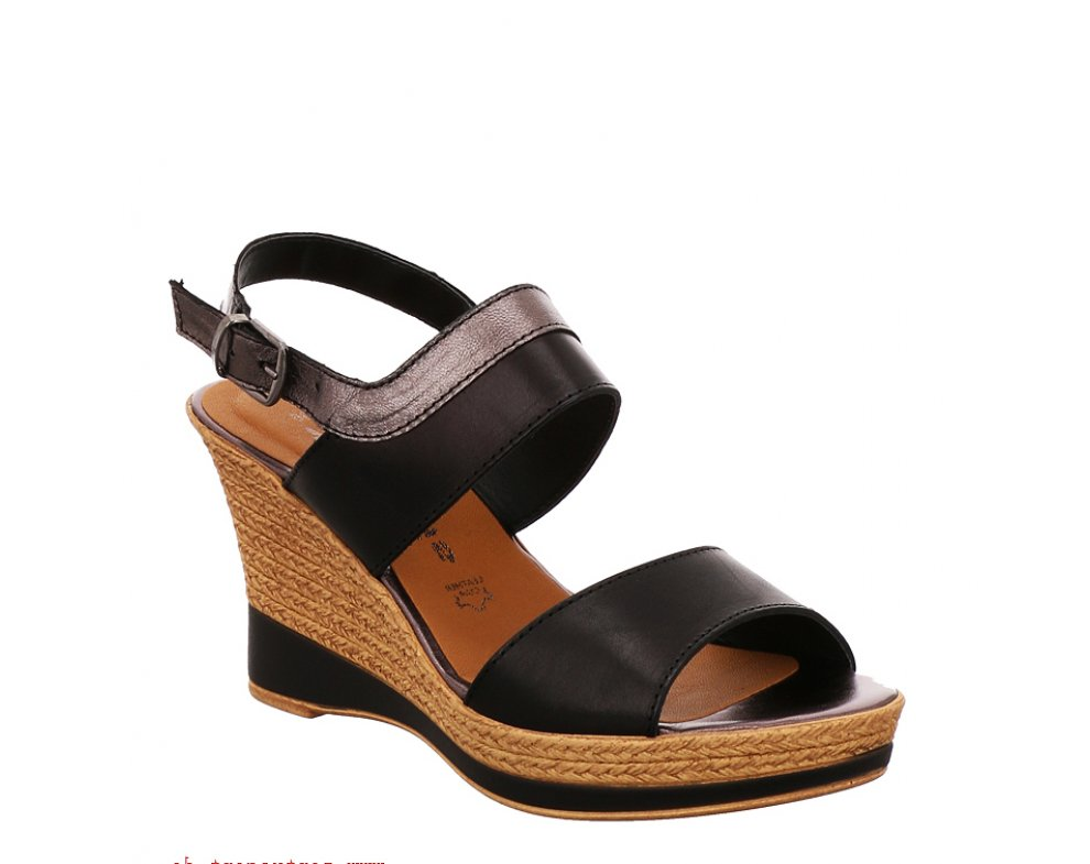 Sandále TAMARIS 1-1-28359-26 099 BLACK/PEWTER
