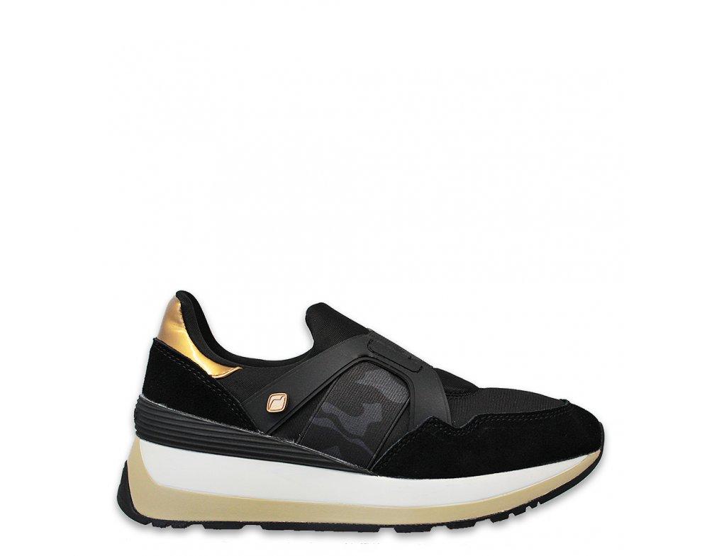 Sneakersy D4009 BLACK
