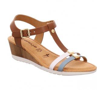 Sandále TAMARIS 1-1-28213-26 392 COGNAC COMB