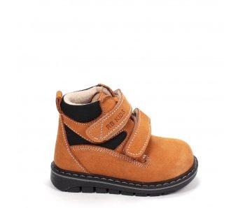 Detské topánky RB1-BB134-71-41 HNEDÁ/ČIERNA