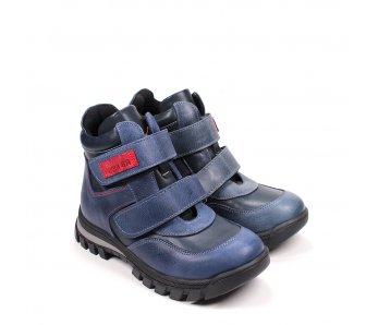 Detské topánky 3-FLT134-18-02-47 MODRÁ