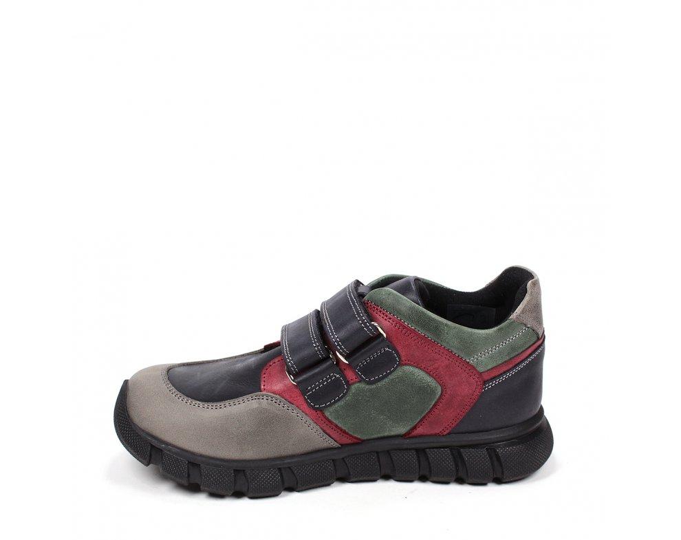 Detské topánky RB3-FLT-174-17-40-78 KHAKI/BORDO/GREY