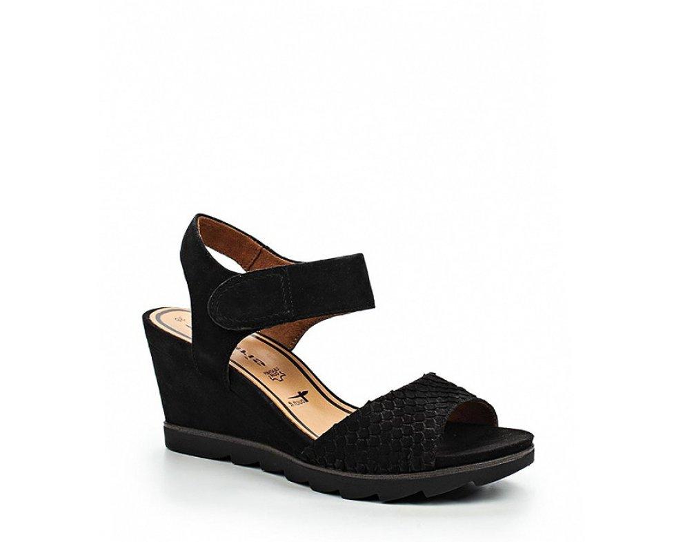 Sandále Tamaris 1-1-28302-26 001 BLACK