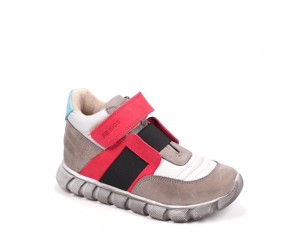 Detské topánky RB3-FLT125-171-139-7 RED/GREY