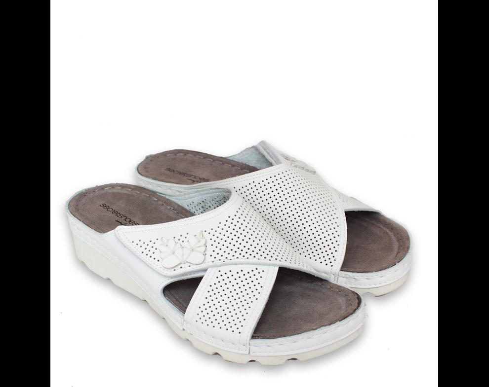 Zdravotná obuv SH160109 WHITE