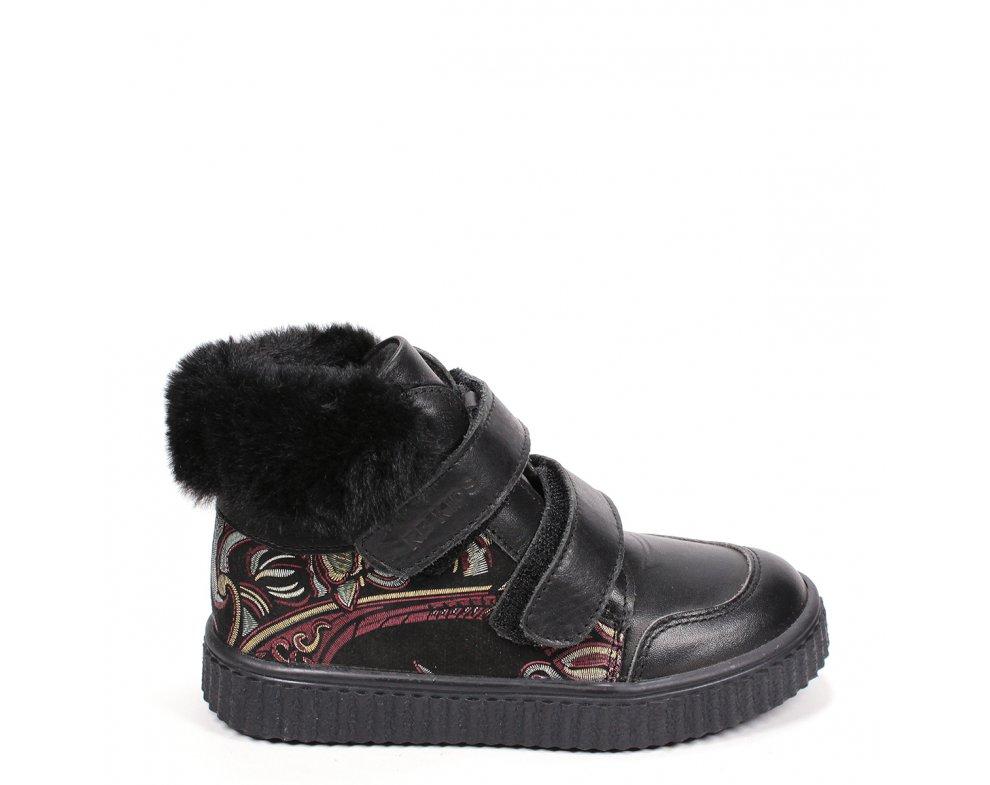 Detské topánky RB2-PTK83-132-124 BLACK