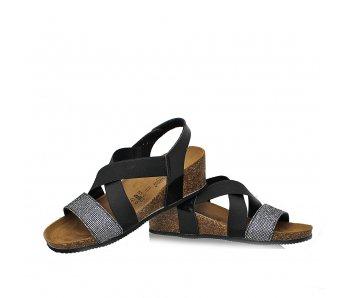 Sandále GS1393 VERNICE NERA