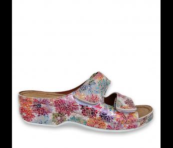 Zdravotná obuv SH3022 PINK FLOWER
