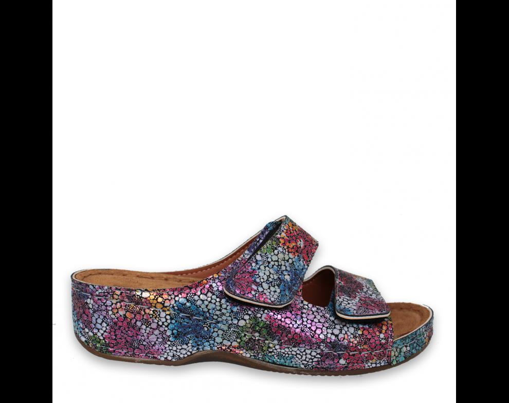 Zdravotná obuv SH3022 NAVY FLORAL