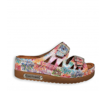 Zdravotná obuv SH9775 PINK FLORAL