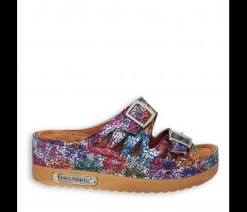 Zdravotná obuv SH9775 NAVY FLORAL
