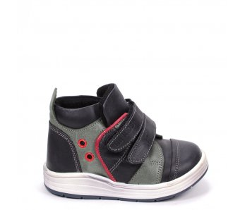 Detské topánky RB1-BB48-40-87-21 KHAKI/BLACK