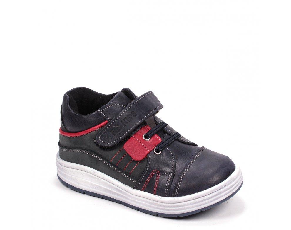 Detské topánky RB NAVY/RED