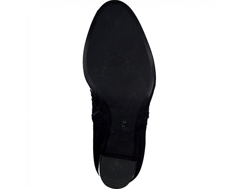 Kotníky Tamaris 1-1-25363-25 028 BLACK CROCO