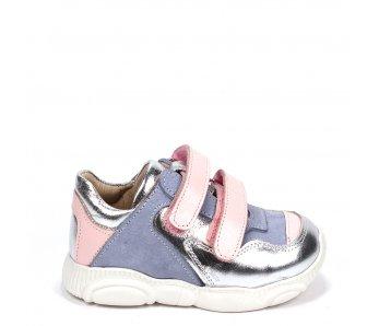 Detské topánky RB1-BB181-24-140-05 SILVER/ROSE