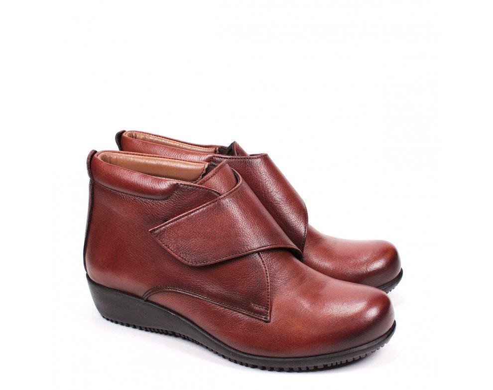 Členkové topánky SI66168-1 BROWN