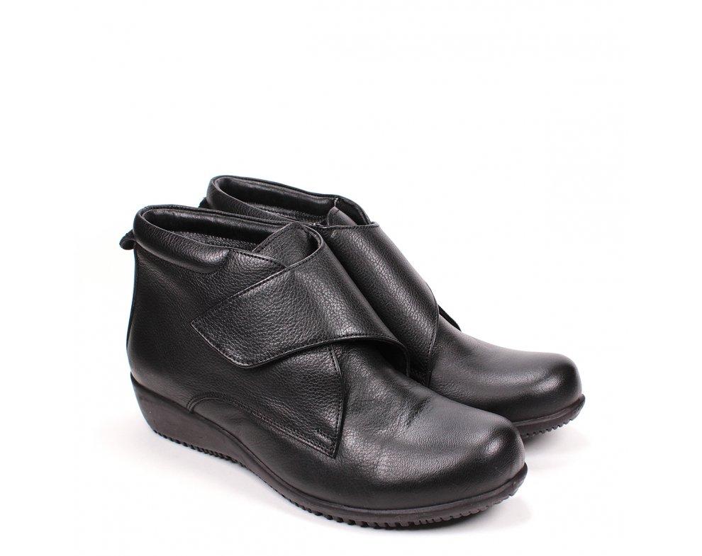 Členkové topánky SI66168-1 BLACK