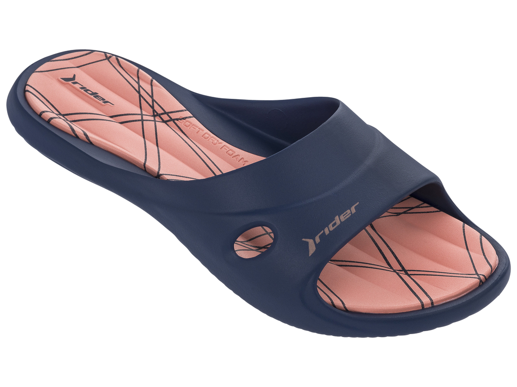 032e9aa9bb4db Gumené šľapky IP82214 BLUE/ORANGE   SecretShoes.sk