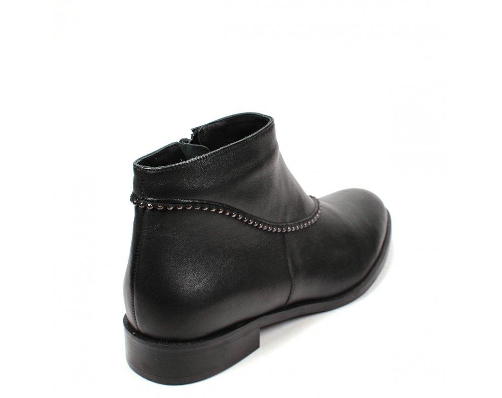 Členkové topánky S1000-16-5 ČIERNA