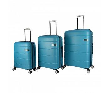 Cestovné kufre UN-108 TYRKYSOVÁ