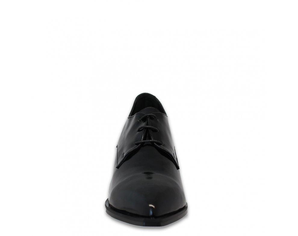 Kotníky AQ20K-6818-002 BLACK PATENT