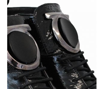 Štýlové kotníky AQ507 BLACK