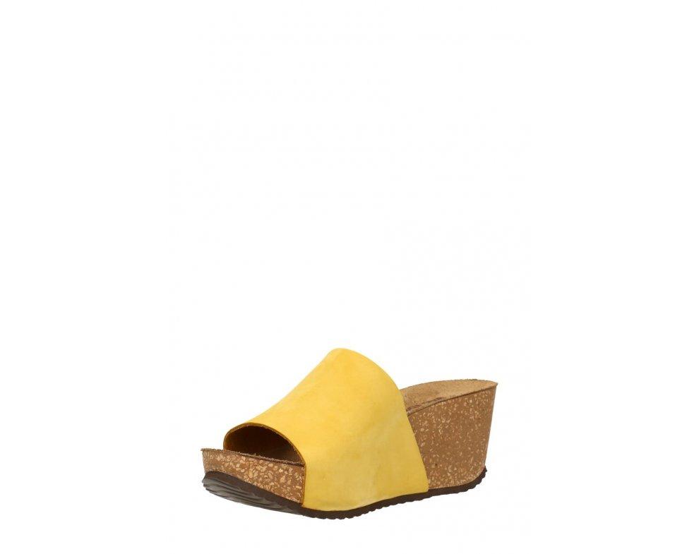 Šľapky GINO ROSSI DL614M-TWO-BN00-2100-0 Žltá