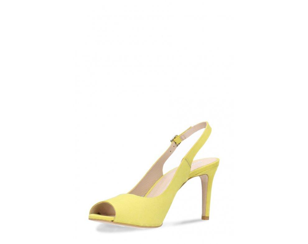 Sandále GINO ROSSI DNH866-AW3-0014-2100-0 Žltá