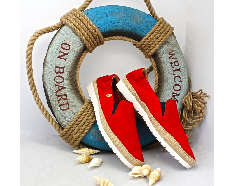 Pánska vychádzková obuv VB133CC RED
