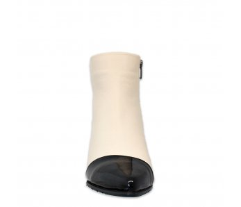 Elegantné kotníky AQ1657-1325-1375 CREAM