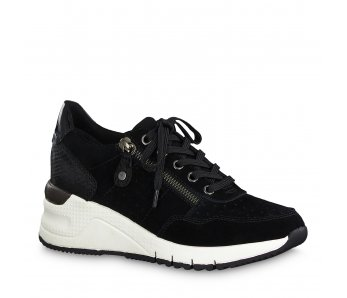 Sneakersy 1-1-23727-23 098 BLACK COMB