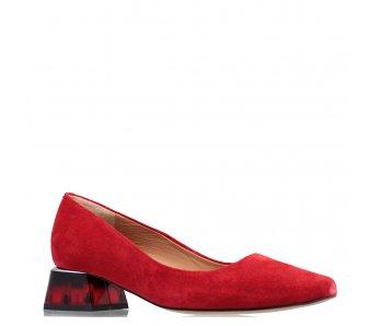 Lodičky SL1499 RED