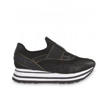Sneakersy 1-1-24707-23 098 BLACK COMB