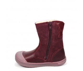 Nepremokavé detské topánky DA03-1-344A RASPBERRY