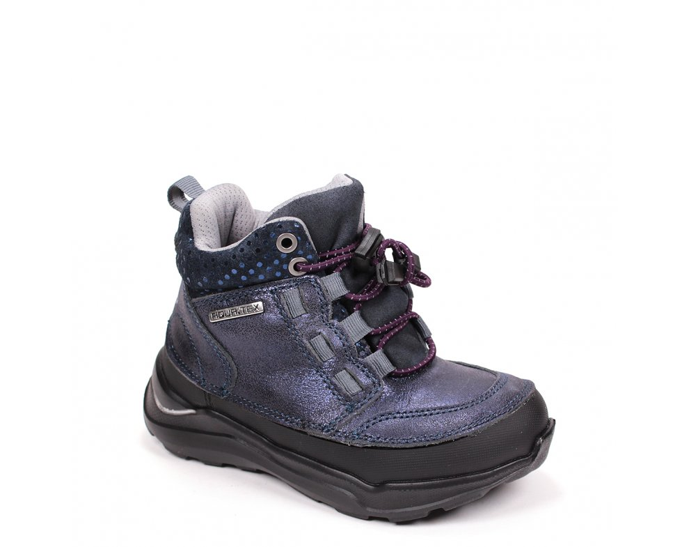 Nepremokavé detské topánky F61-111CM ROYAL BLUE