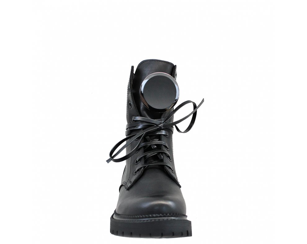 Workery MO1024-176 BLACK LEATHER