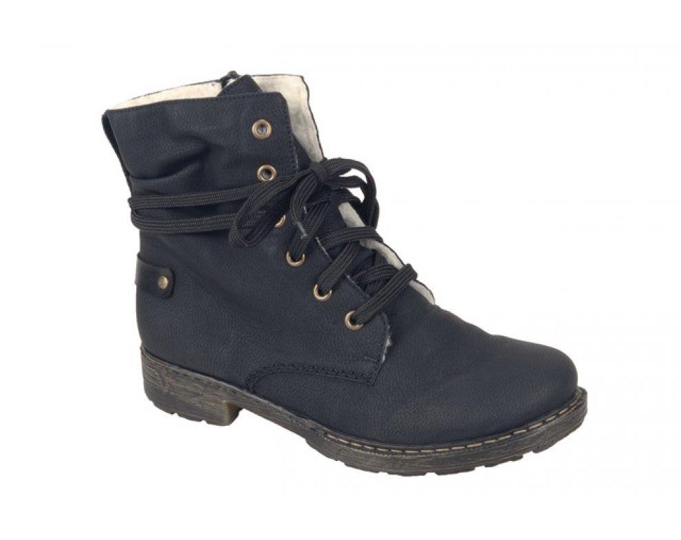 Vychádzková obuv RIEKER 79220-00 07