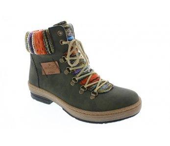 Vychádzková obuv RIEKER Z67432-54 07